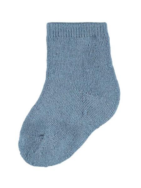 Bilde av NbmWaksi wool terry sock - China Blue
