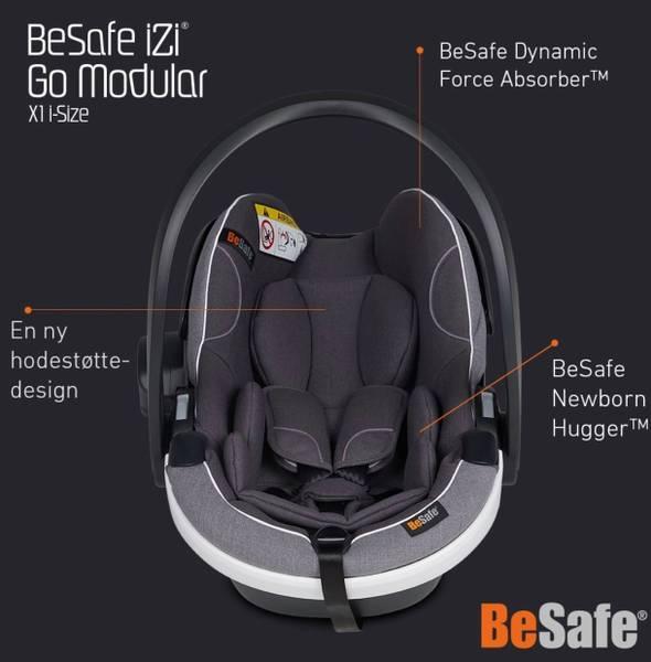 Bilde av BeSafe iZi Go Modular x1 i-Size - Fresh Blac Cab