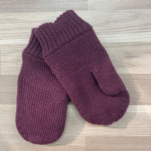 Bilde av NmmFlash Wool Mitten - Prune Purple