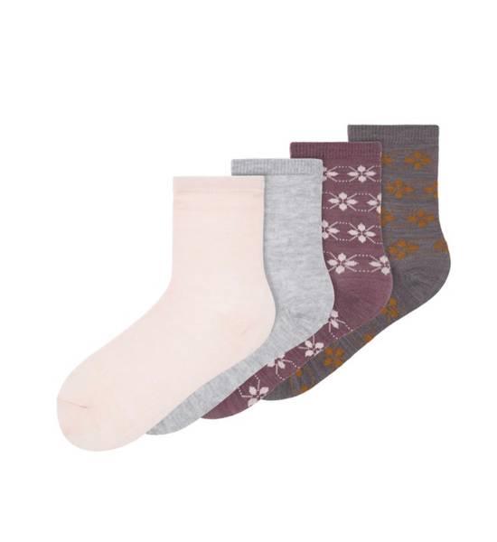 Bilde av Nkfwak wool 4-pk sock - Flint