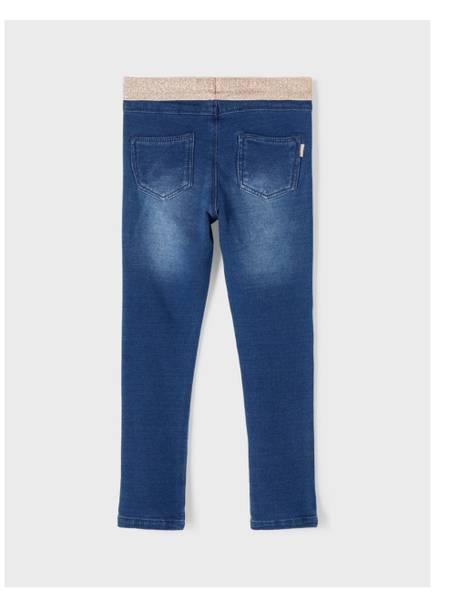 Bilde av NmfPolly DnmTorinas 2535swe Legging - Med Blue