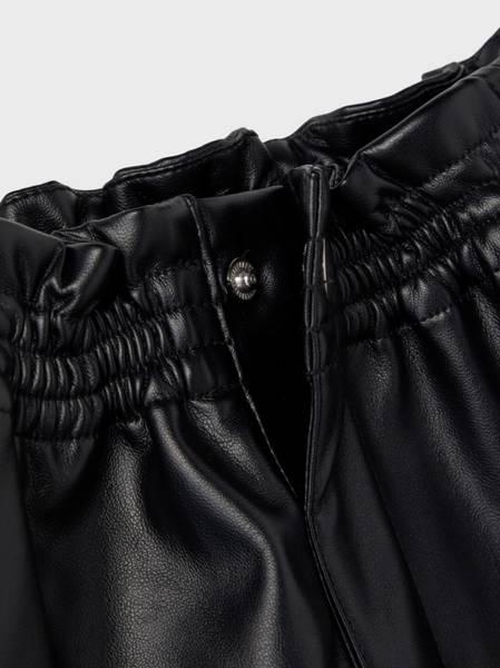 Bilde av NkfLusara PU skirt - Black