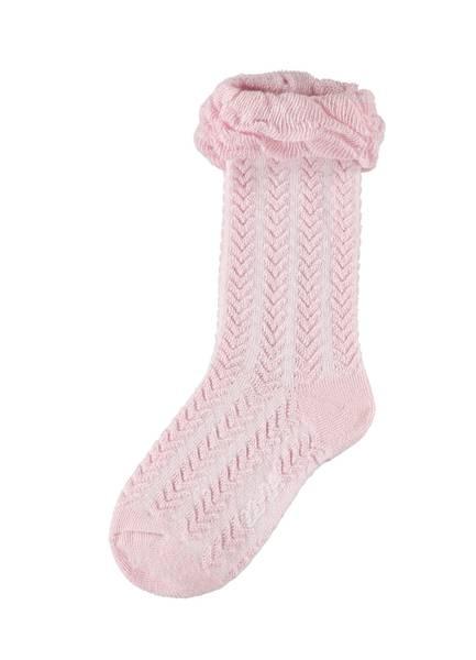 Bilde av NmfDira Knee Sock - Pink Nectar
