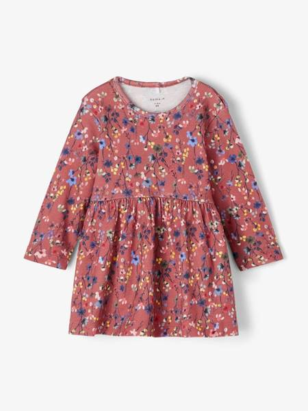 Bilde av NbfTessie ls Dress - Withered Rose