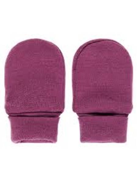Bilde av Nbfwillit wool mittens uten tommel - Prune Purple