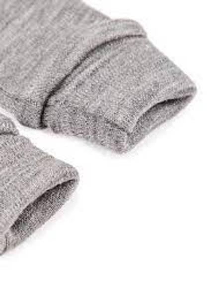 Bilde av Nbmwillit wool mittens uten tommel - Dark Grey