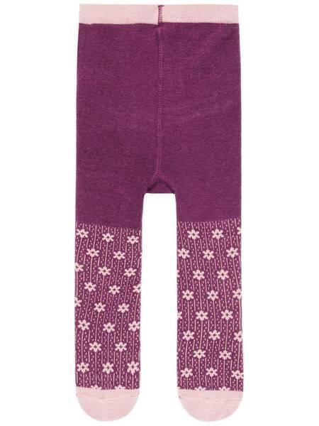Bilde av NmfWak ull strømpebukse - Prune Purple