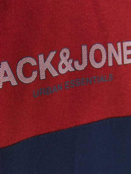 Bilde av JjeUrban Blocking Sweat Hood jr - Red