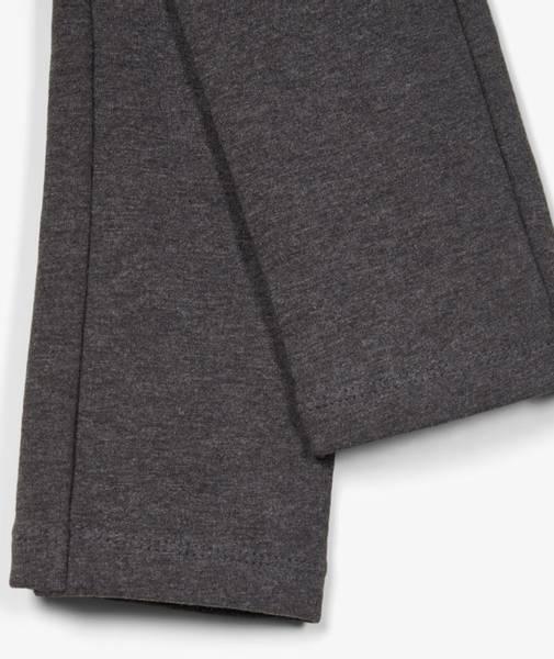 Bilde av NkfDavina solid swe legging - Dark Grey Melange