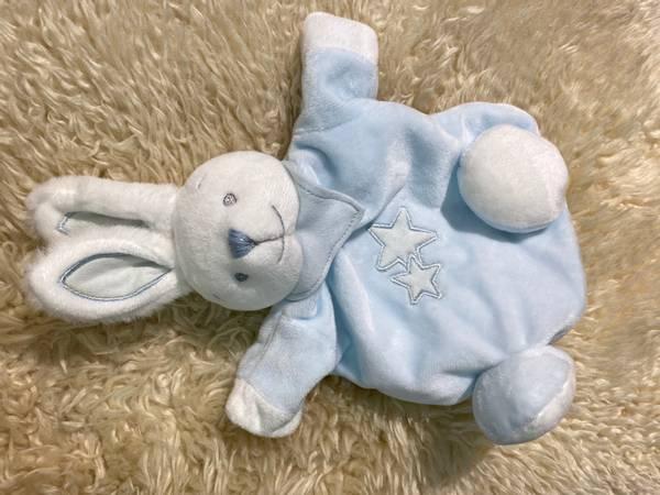 Bilde av Kosebamse kanin - lyseblå